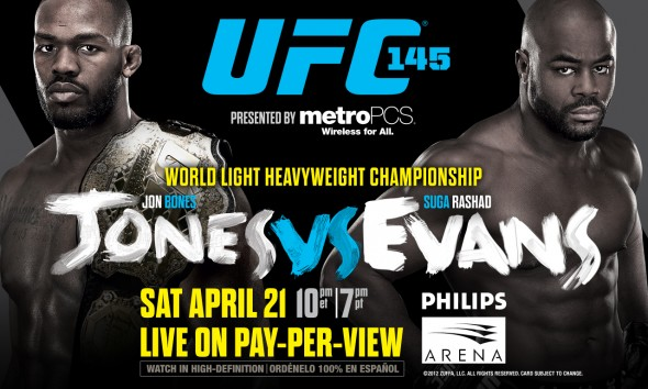 UFC 145- Results