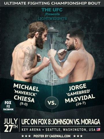 michael-chiesa-jorge-masvidal-ufc-on-fox-8-poster