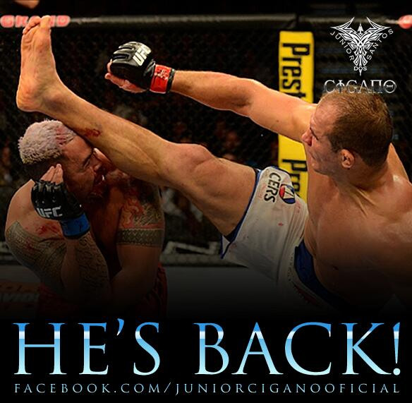 The Champ is back!