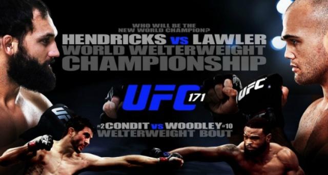 UFC-171-poster