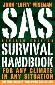 sas survival guide, prepper, survival, book, wiseman